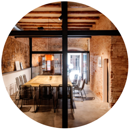 spaces for meetings ailaic barcelona