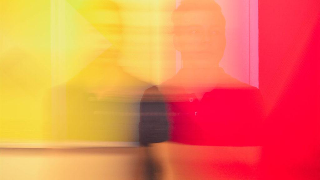 imagen con el color difuminado